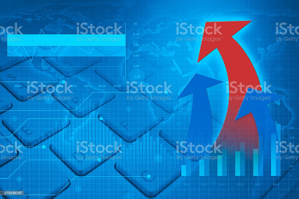 Arrow on keyboard, Elements of this image furnished by NASA stock photo