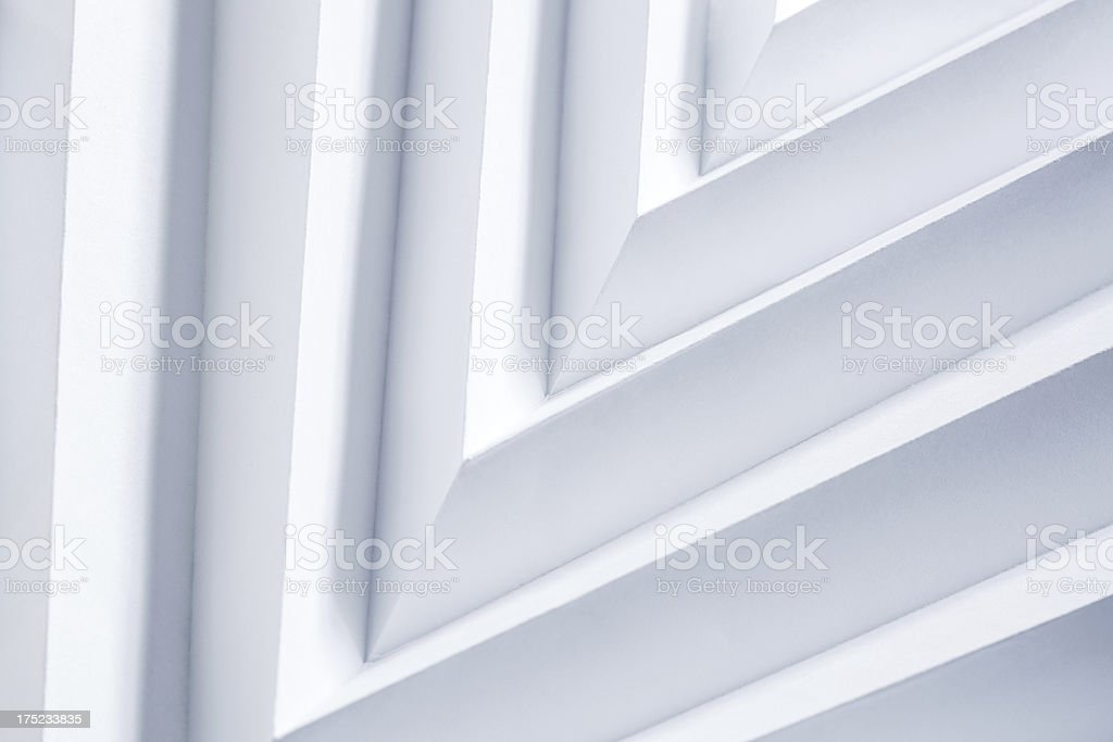 Arrow Paper Lines royalty-free stock photo