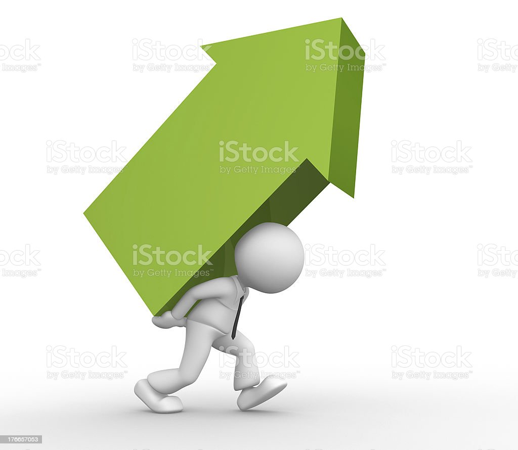 Arrow royalty-free stock photo