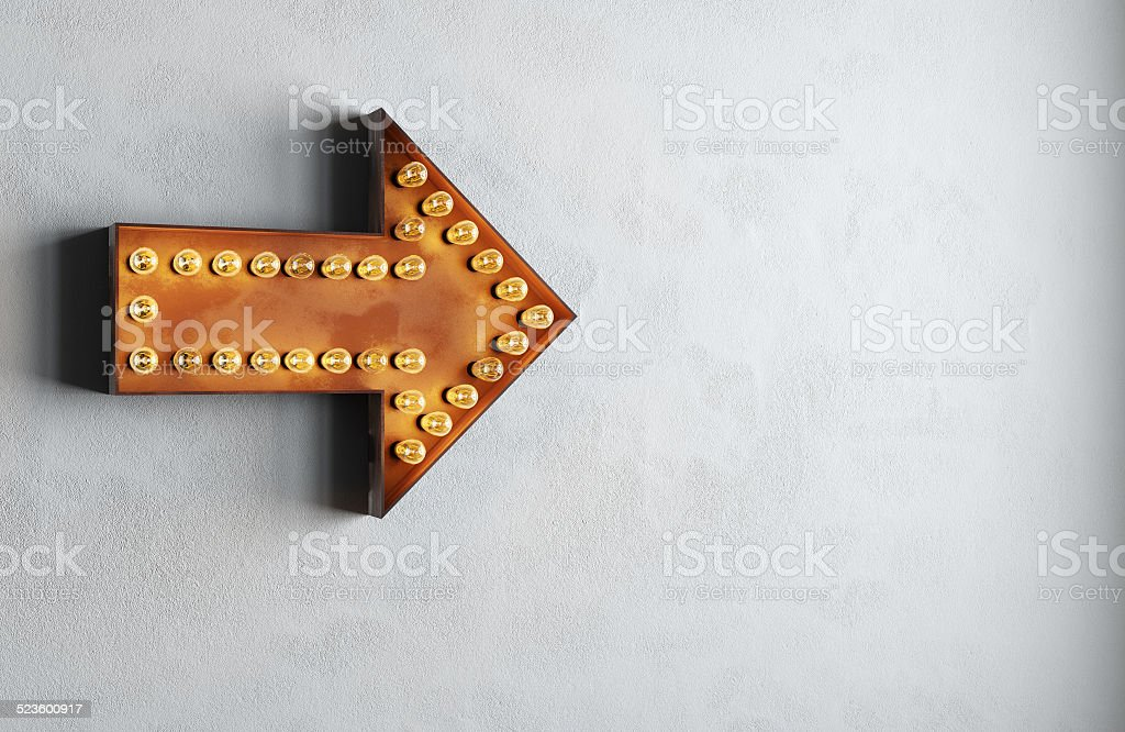 arrow stock photo