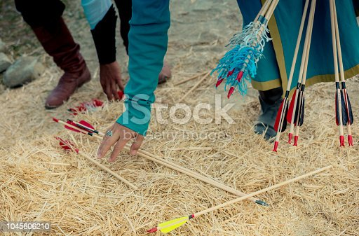 istock Arrow rprojectile weapon system archery 1045606210