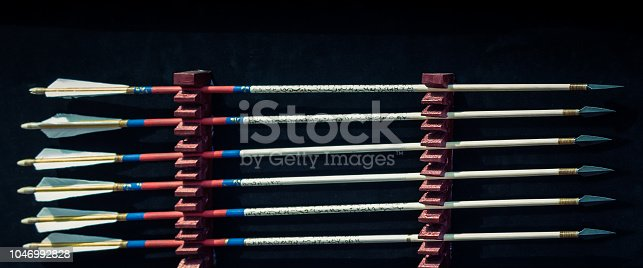 istock Arrow rprojectile weapon system archery 1046992828