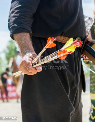 istock Arrow rprojectile weapon system archery 925232960