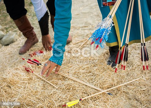 istock Arrow rprojectile weapon system archery 956797898