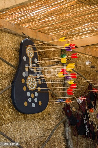 istock Arrow rprojectile weapon system archery 959141234