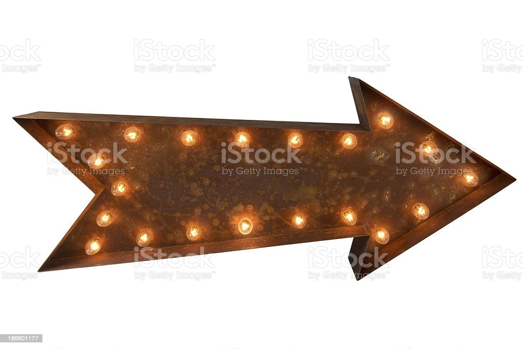 Arrow Sign stock photo