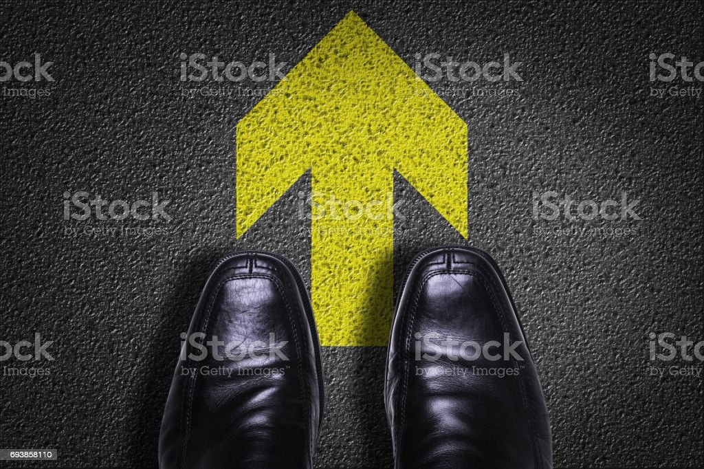 Arrow Symbol stock photo