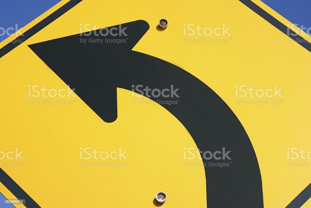 Arrow Symbol: Street Sign stock photo