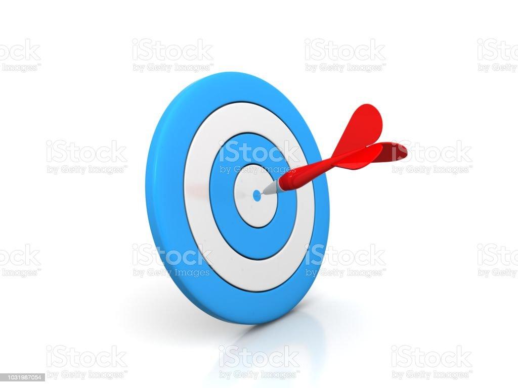 Arrow Target stock photo