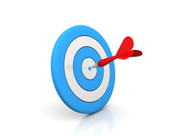 Arrow Target stock photo