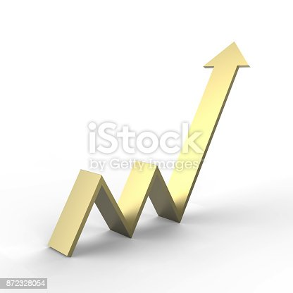 istock Arrow Upward Direction 872328054