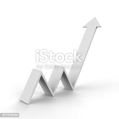 istock Arrow Upward Direction 872328350