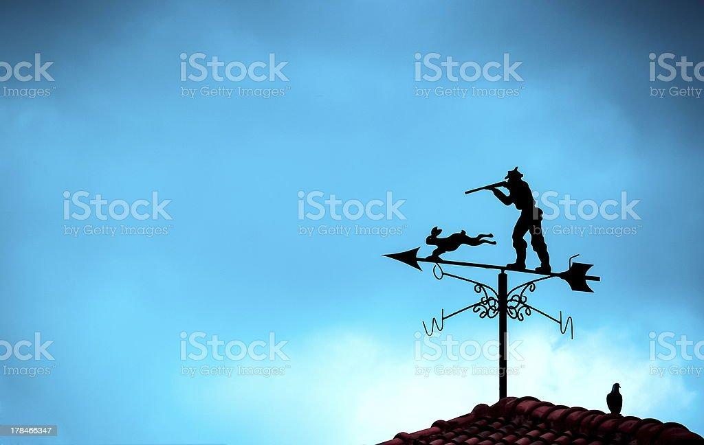 arrow windy royalty-free stock photo