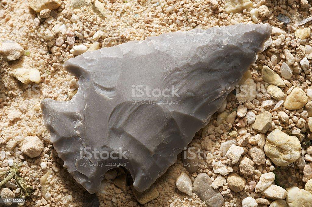 Arrowhead stock photo