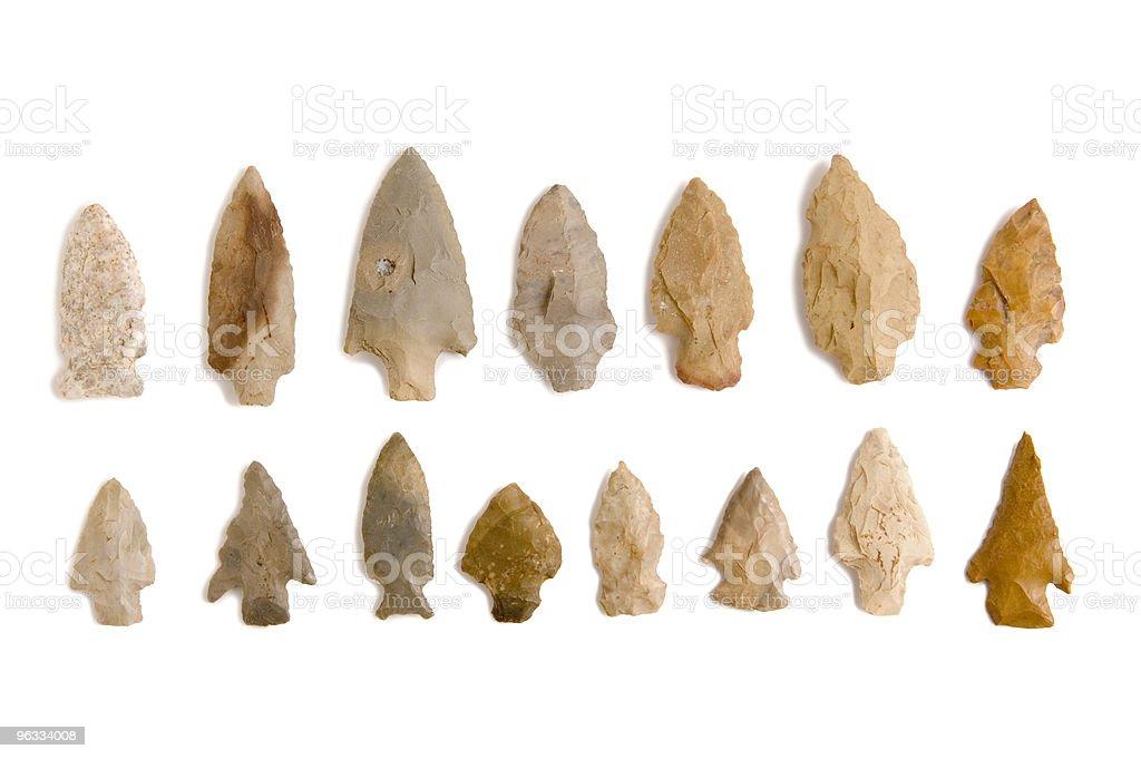 Arrowheads stock photo