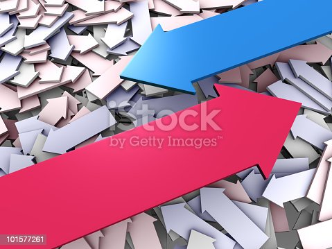 157434064istockphoto Arrows abstract background 101577261