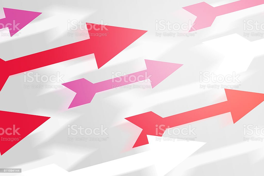 Arrows Abstract Background stock photo