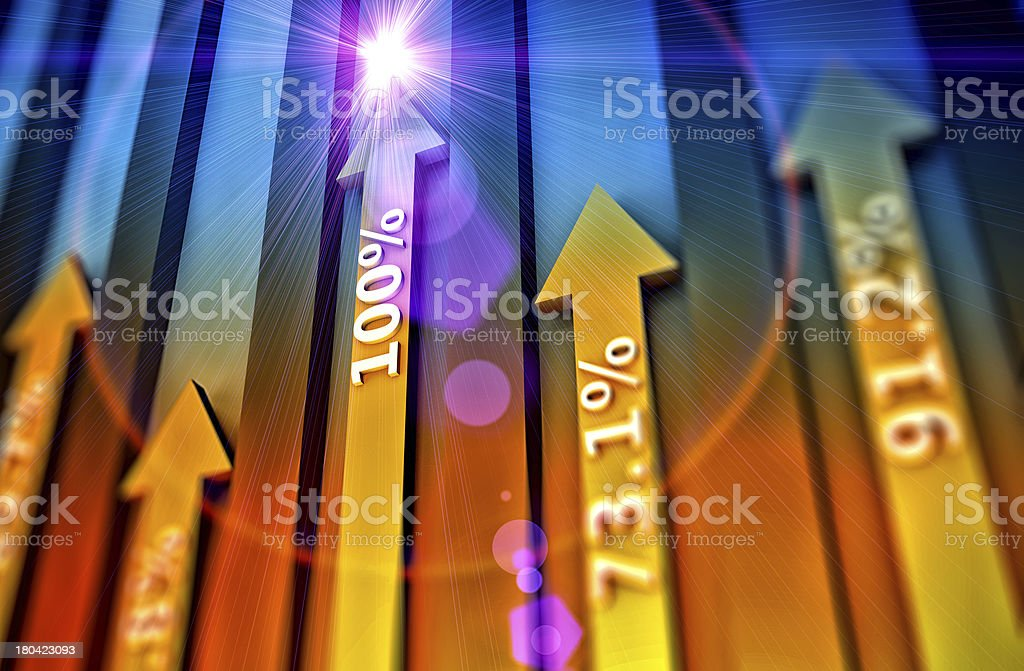 Arrows as concept royalty-free stock photo