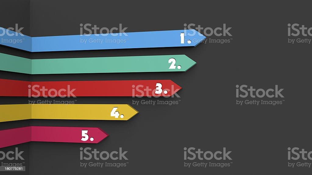 Arrows as concept stock photo