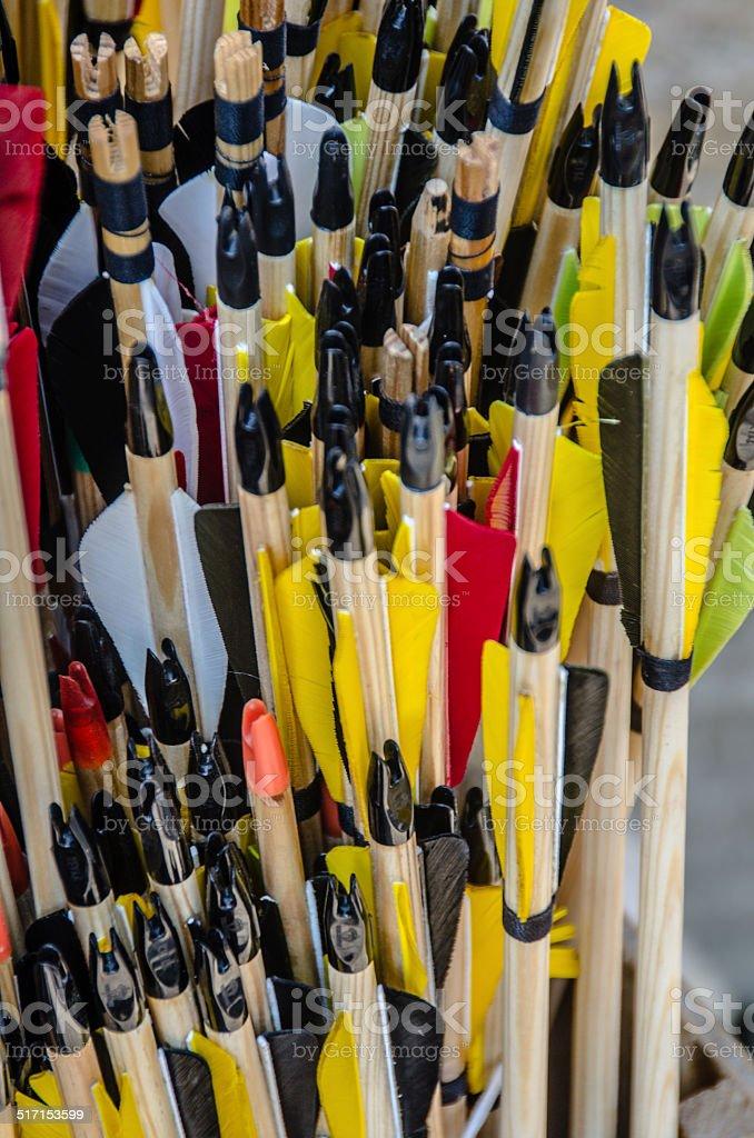 Flechas para la venta - foto de stock