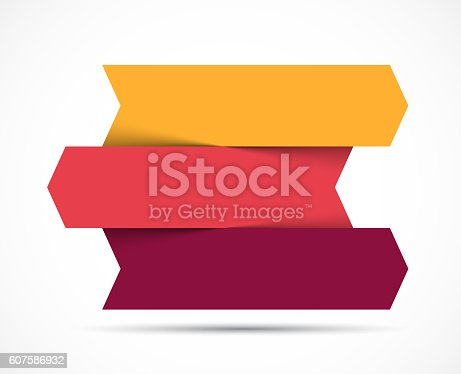 istock Arrows infographic, diagram chart, graph presentation. Business concept with 3 607586932