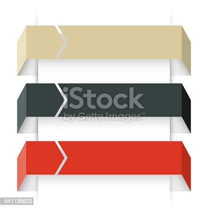 istock Arrows infographic, diagram, graph, presentation, chart. Business concept with 3 541138620