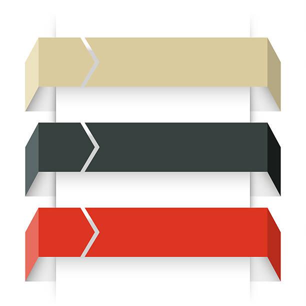 arrows infographic, diagram, graph, presentation, chart. business concept with 3 - terceira imagens e fotografias de stock