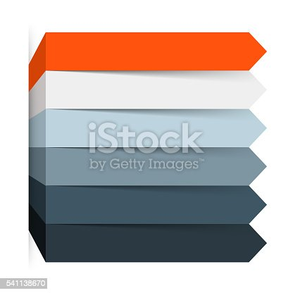 istock Arrows infographic, diagram, graph, presentation, chart. Business concept with 5 541138670