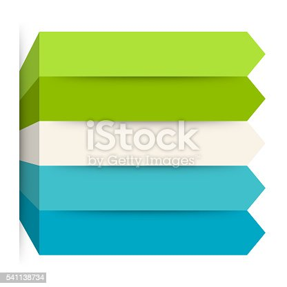 istock Arrows infographic, diagram, graph, presentation, chart. Business concept with 5 541138734