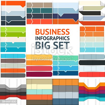istock Arrows infographic, up diagram, graph, growth presentation, chart. Business concept 544481500