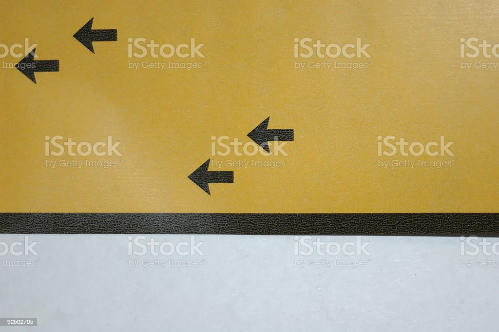 Arrows royalty-free stock photo