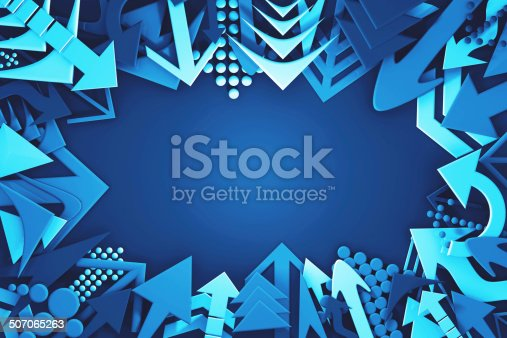 istock Arrows pointing 507065263
