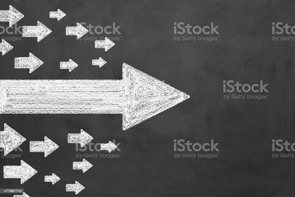 Arrows Right stock photo