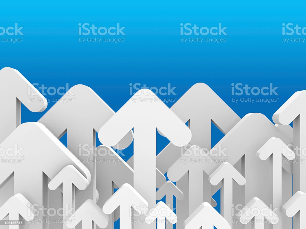 arrows up royalty-free stock photo