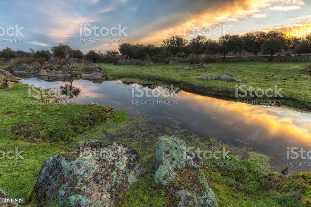 Arroyo de la luz stock photo