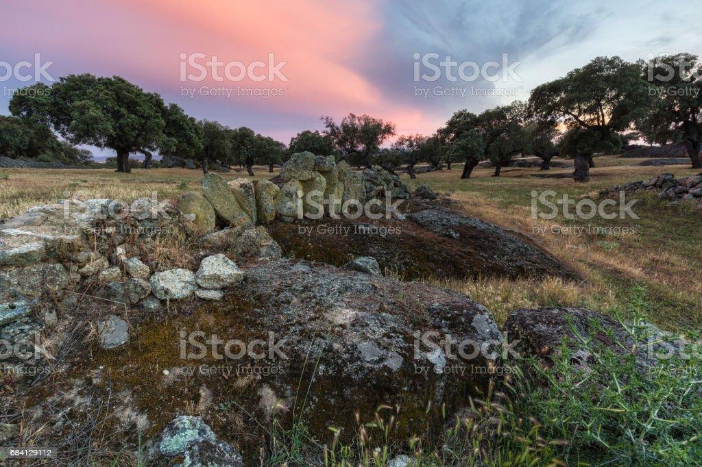 Arroyo de la Luz zbiór zdjęć royalty-free