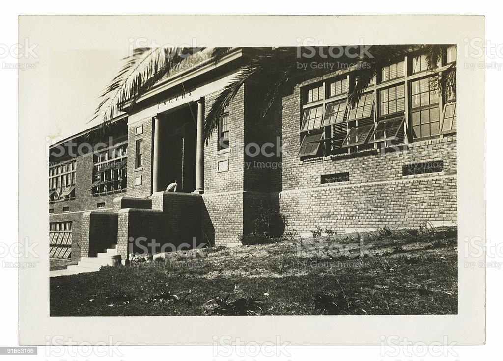 Arroyo Grande Union High School royalty-free stock photo