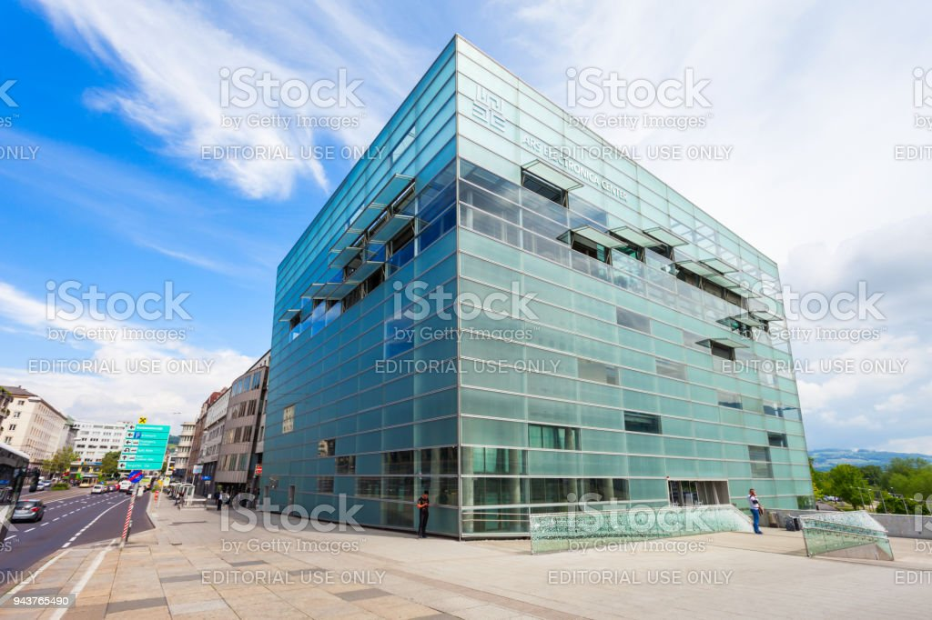 Ars Electronica Center Linz Stock Photo & More Pictures of