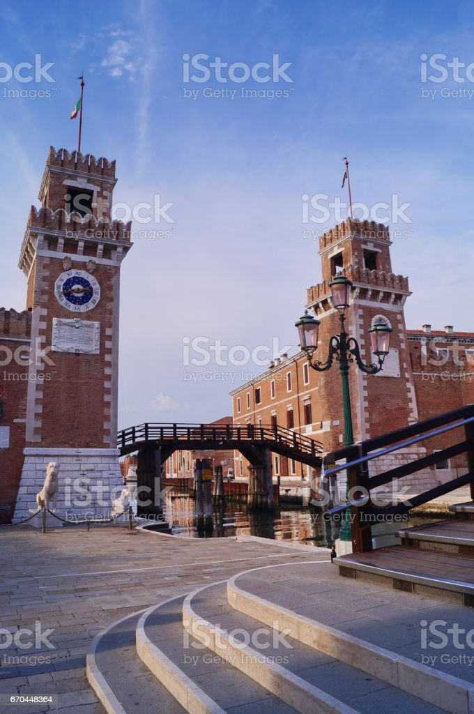 Arsenal district, Venice - foto de acervo