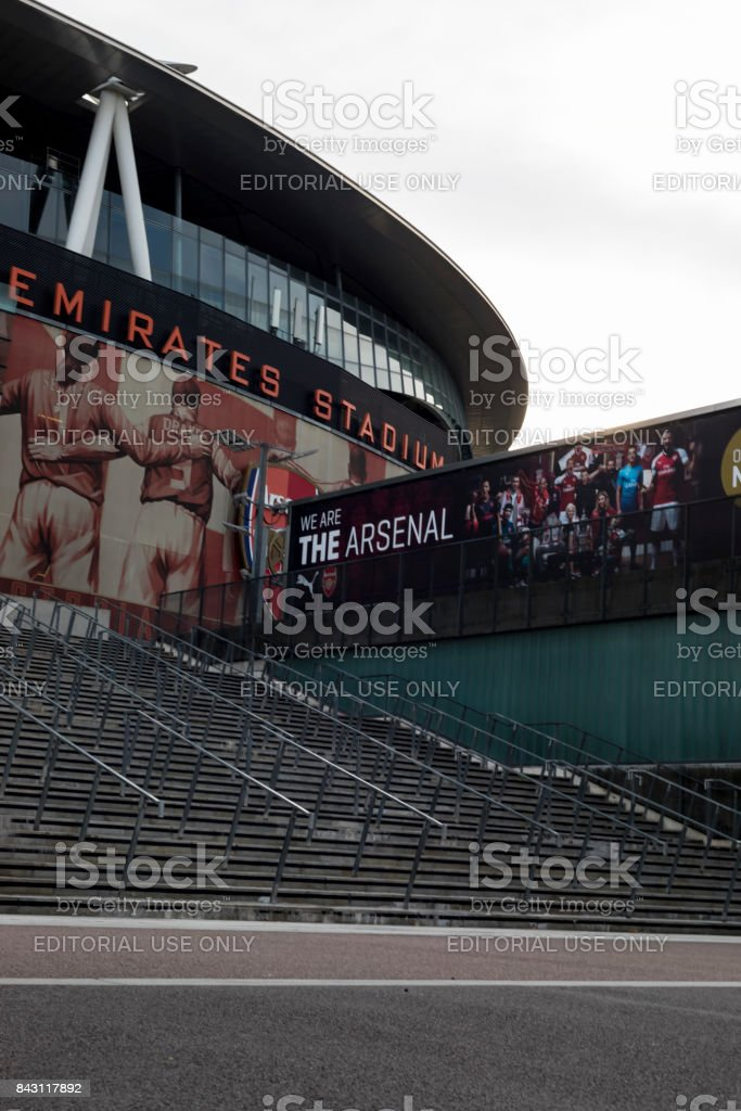 Arsenal Emirates Football Stadium stock photo