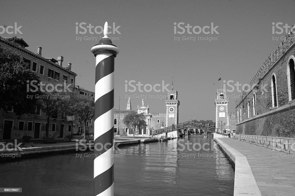 Arsenal, Venice, Italy. royalty-free stock photo