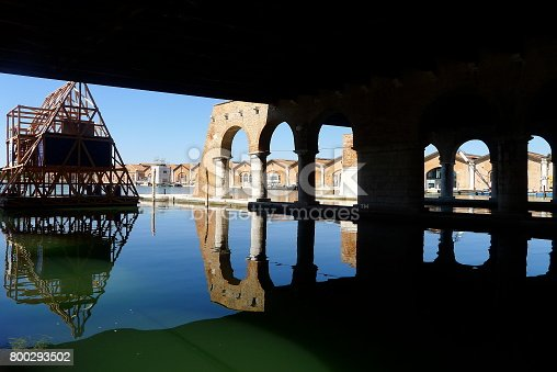 The old Venetian shipyard