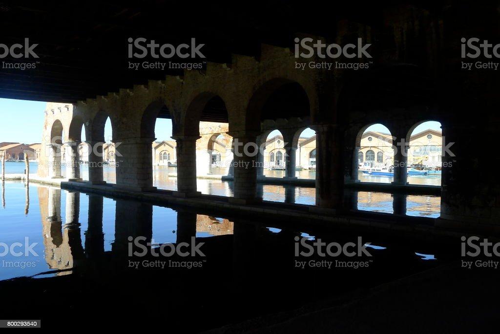 Arsenal de Veneza - foto de acervo