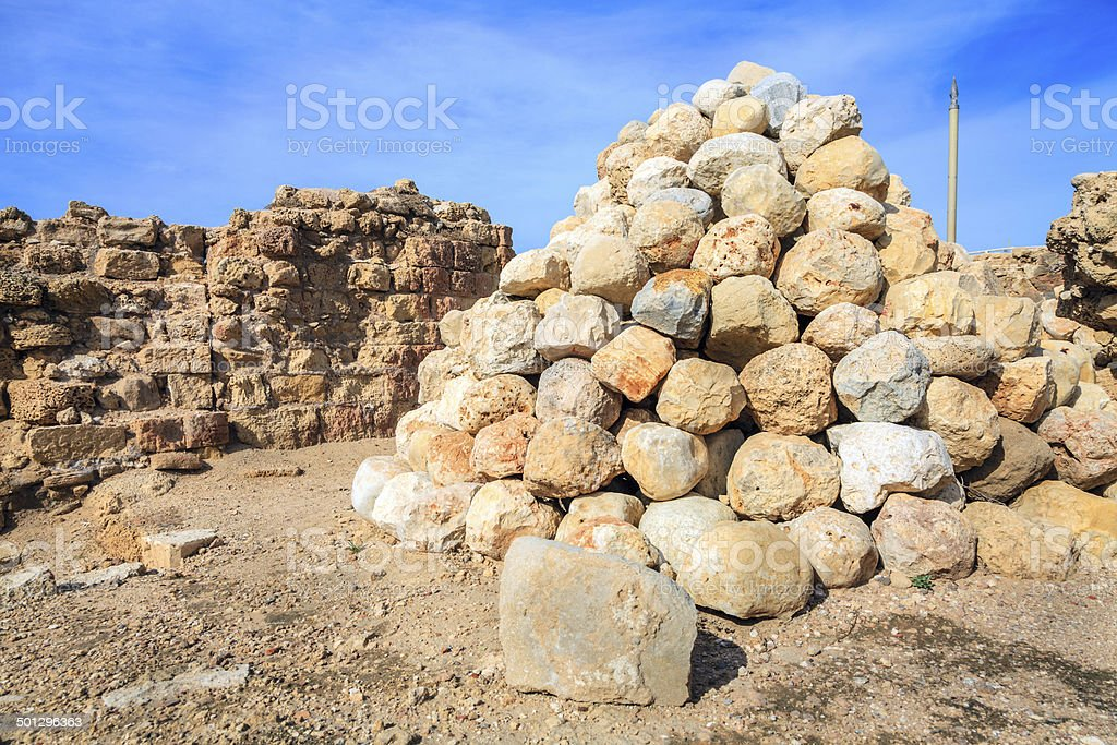 Arsuf, Israel stock photo