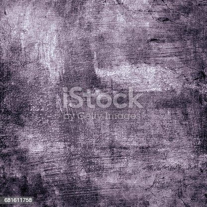 istock Art abstract texture painted on art canvas background 681611758