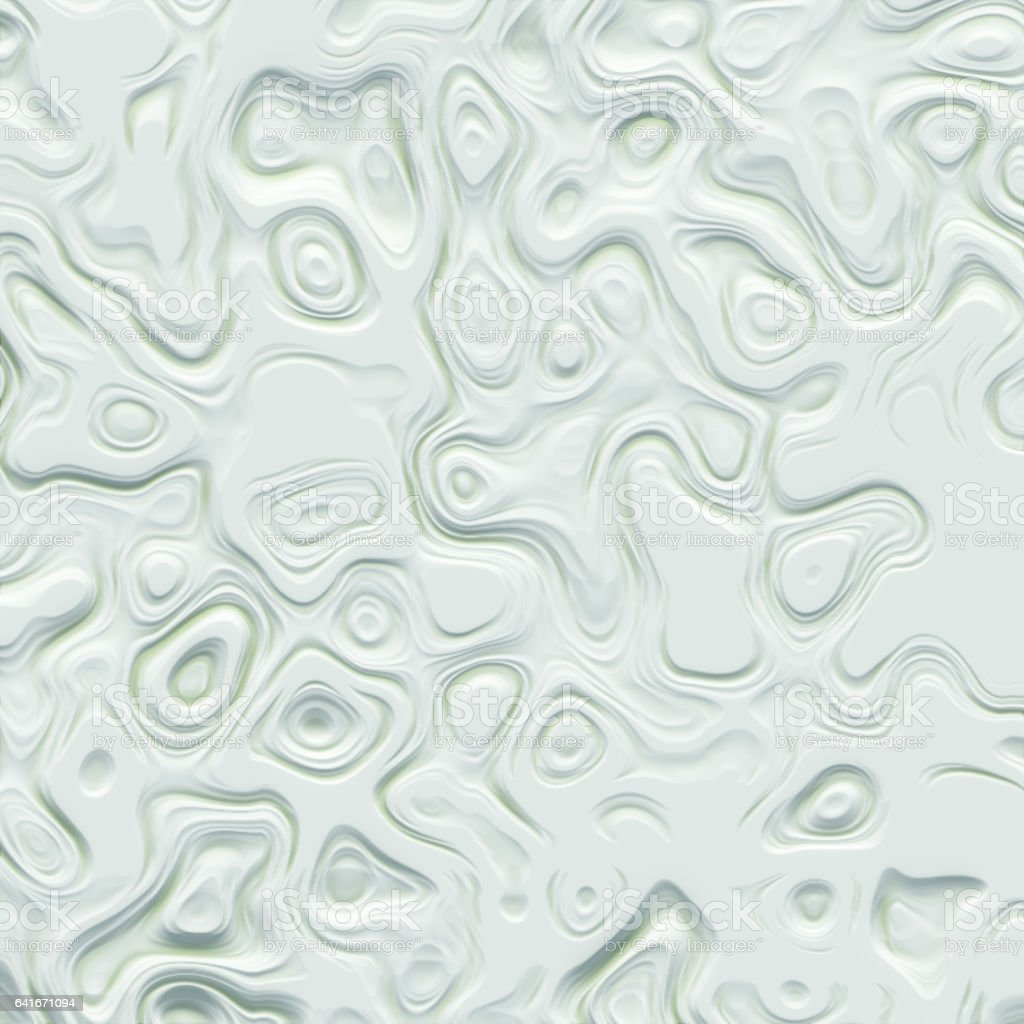 Art abstract white fractal pattern 3d rendering stock photo