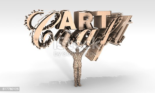 517780131 istock photo Art and Craft Sculpture 517780125