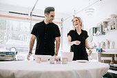 Art and Pottery Studio Couple