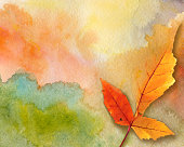 Art autumn background