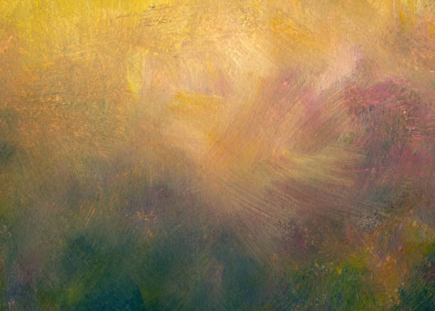art background - impressionist painting stock photos and pictures
